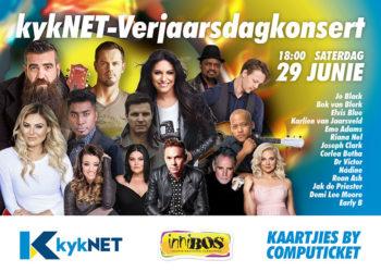 Saturday 29 June 2019 – kykNET-Verjaarsdagkonsert