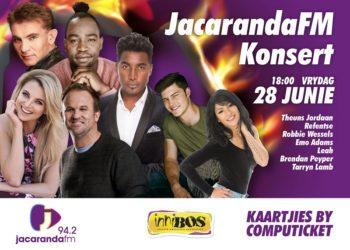 Friday 28 June 2019 – JacarandaFM-konsert