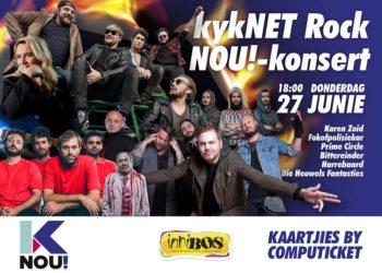 Thursday, 27 June 2019 – kykNET Rock NOU!-konsert