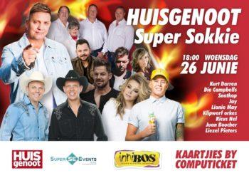 Wednesday, 26 June 2019 – Huisgenoot Super Sokkie-konsert